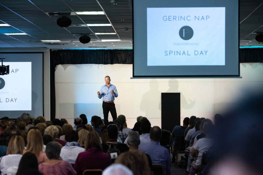 Gerinc Nap - a gerinckonferencia 2019-ben