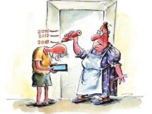 SMS nyak gyereknél